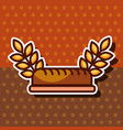 bakery and dessert products concept vector image vector image