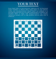 board game of checkers icon chess board vector image