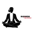 businesswoman woman in business suit vector image vector image