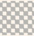 modern abstract checkered seamless texture vector image vector image