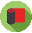 Rolled Mat vector image