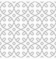 seamless geometric pattern monochrome graphic vector image vector image