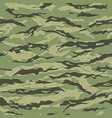 vietnam tiger stripe camouflage seamless patterns vector image vector image