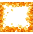 autumn floral ornament vector image vector image