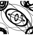 geometric monochrome texture pattern with random vector image