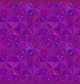 purple abstractal stripe mosaic tile pattern vector image vector image