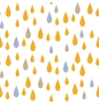 Rain drops seamless pattern