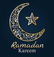 ramadan greetings card ramadan kareem vector image