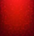 Red Bokeh Xmas Card vector image vector image