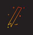 ribbon icon design vector image
