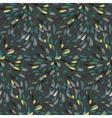 Seamless splattered fireworks pattern vector image vector image