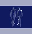 zodiac sign-gemini vector image