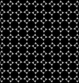 Abstract black and white geometric seamless vector image vector image