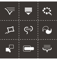 Bulds icon set vector image