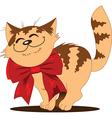 Cute kitten vector image vector image