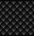 monochrome seamless abstract square pattern vector image vector image