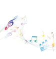 Musical Design vector image vector image
