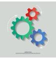 mechanism flat vector image