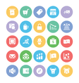 Finance Colored Icons 4 vector image vector image