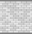 gray white brick wall seamless pattern background vector image
