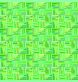 green abstract repeating striped square tile vector image vector image