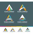 Letter A Logo Design vector image vector image