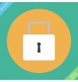 lock icon - icon vector image