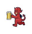 Red Devil Beer vector image vector image