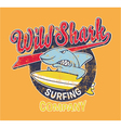 Surf shark vector | Price: 1 Credit (USD $1)