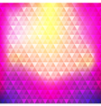Abstract background colorful continuous triangle vector image vector image