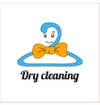 An image of a cartoon laundry symbol vector image