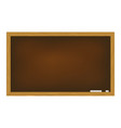 blackboard isolated on white background vector image vector image