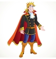 Blond Prince charming vector image vector image