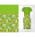 cute pattern in small simple flowers seamless vector image