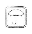 keep dry symbol protect cargo from excessive vector image vector image