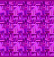 purple abstract striped square tile mosaic vector image vector image