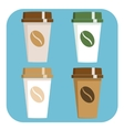 Take away Coffee sign icon vector image vector image