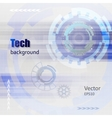 Technology Hi-tech background vector image vector image