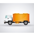 Truck icon design vector image
