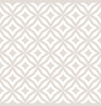 white and beige subtle diamonds seamless pattern vector image vector image
