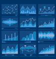 big data blueprint data analytics vector image