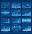 big data blueprint data analytics vector image vector image