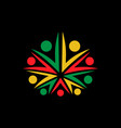 cannabis legalization icon vector image vector image