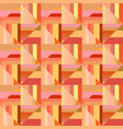 colorful seamless abstract striped square mosaic vector image vector image
