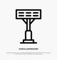 construction light stadium line icon vector image vector image
