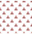 drawbridge pattern seamless vector image vector image