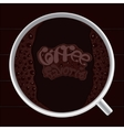Favorite coffee vector image vector image