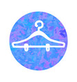 hand drawn icon of hanger vector image vector image