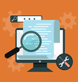 Programming and coding App development and code vector image
