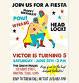set vintage lucha libre tickets lucha libre vector image vector image